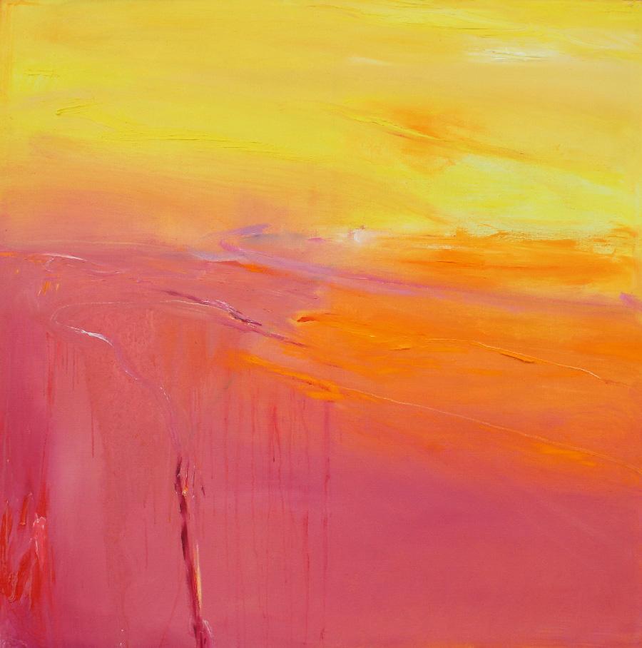 Kelta, öljy kankaalle, 120 x 120cm