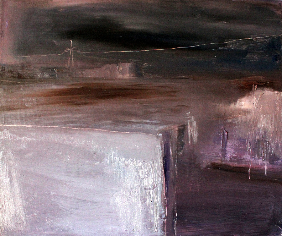 Tunisialainen yö, öljy kankaalle, 40 x 55cm