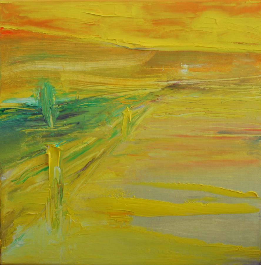 Kelta 3, öljy kankaalle, 40 x 40cm
