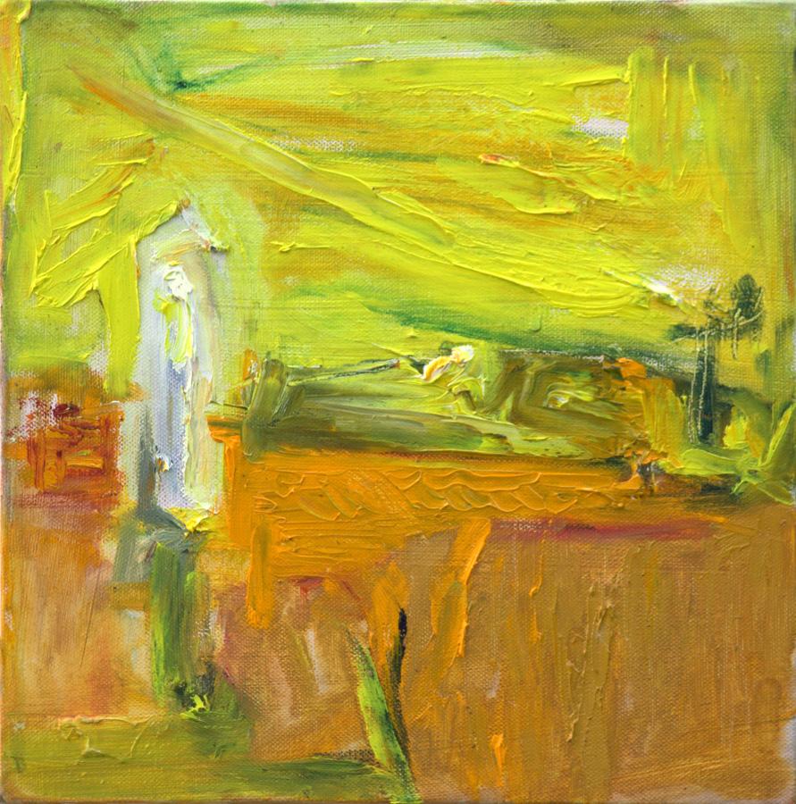 Kelta, öljy kankaalle, 40 x 40cm