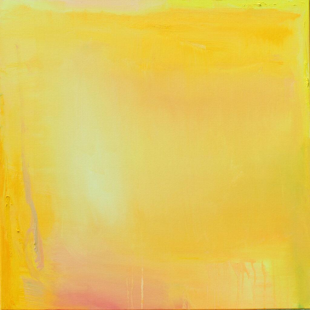 Laupeus, öljy kankaalle, 1m x 1m, 2020